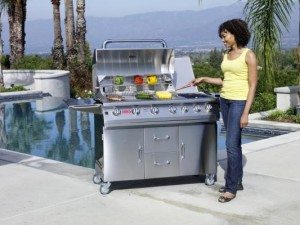 BBQ Grill Cart 7 burner