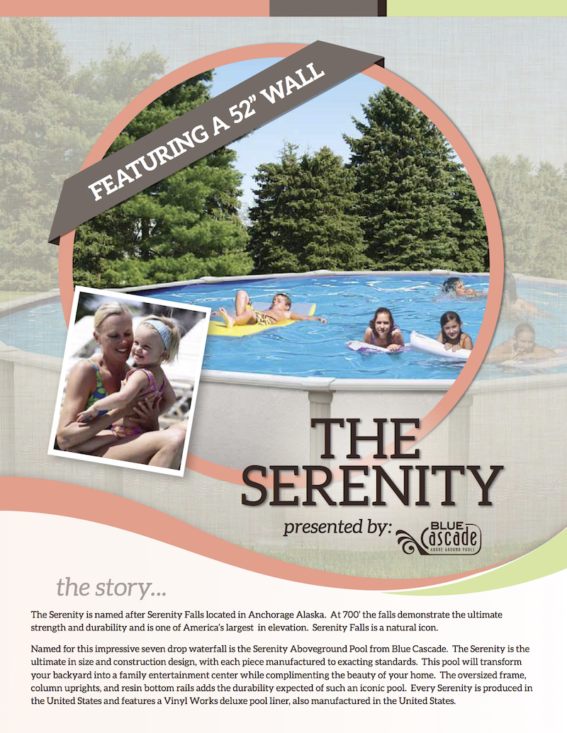 The Serenity - 52 Inch Wall_40 Year Warranty800x1035