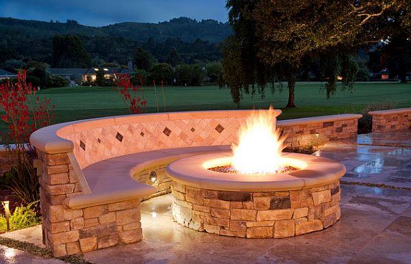 Poolside firepit tips