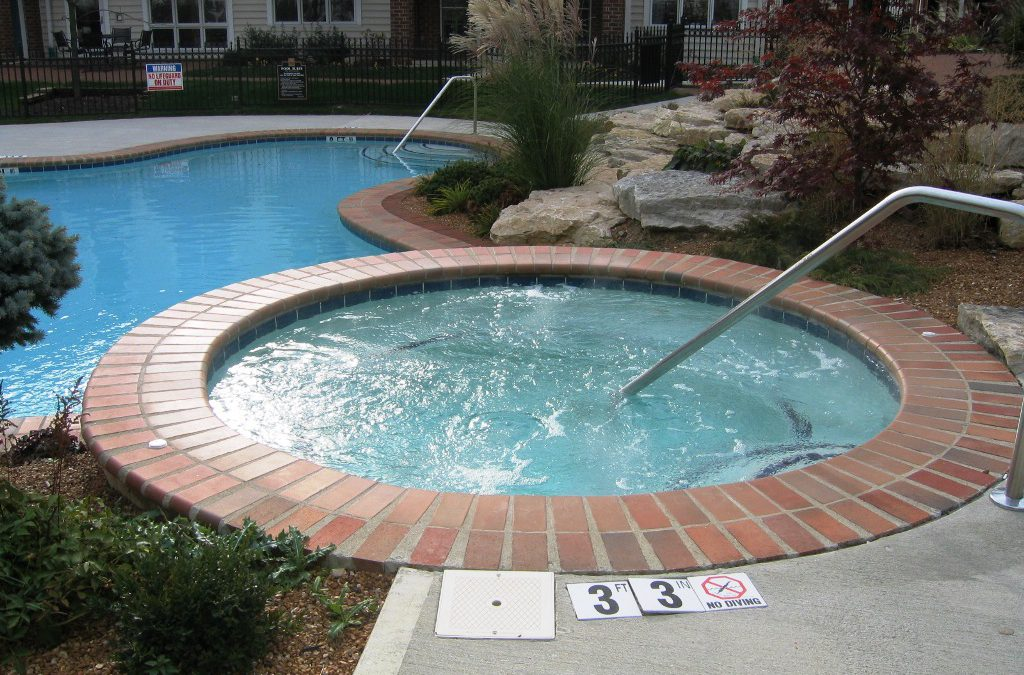 Soak away your stress in a hot tub