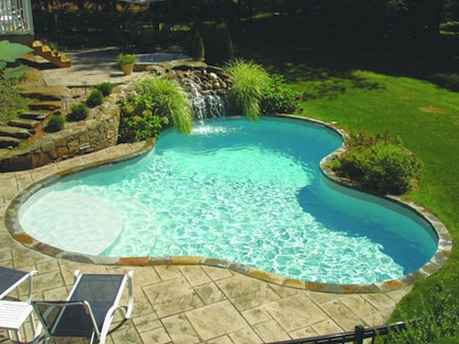 Vinyl Liner Pool Pictures Best Pool Builder Champaign