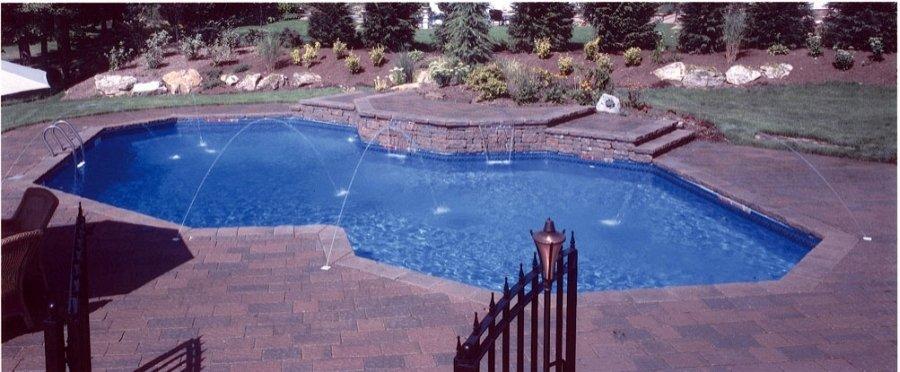 Vinyl Liner Pool Pictures Best Pool Builder Champaign