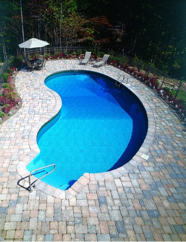 Pool finishes make the pool
