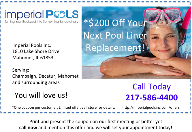 Save Money On Your Next Pool Liner Replacement