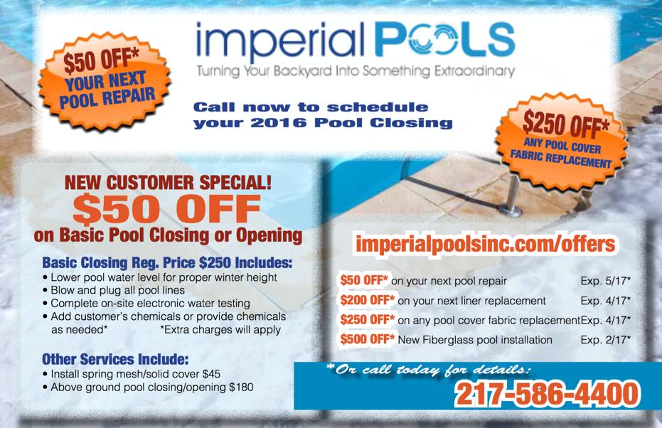 Money Saving Pool Service Offers