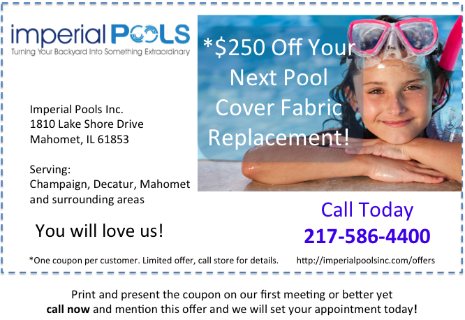Save Money On Your Pool Cover Fabric Replacement