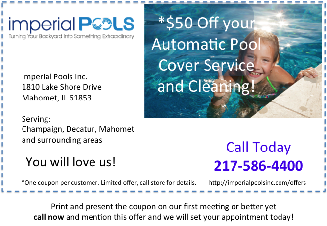 Save Money Automatic Pool Cover Service Special