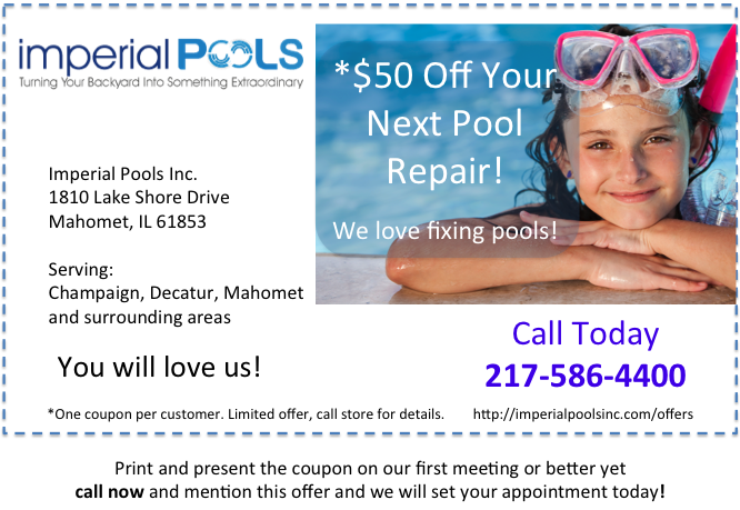Save Money On Your Next Pool Repair