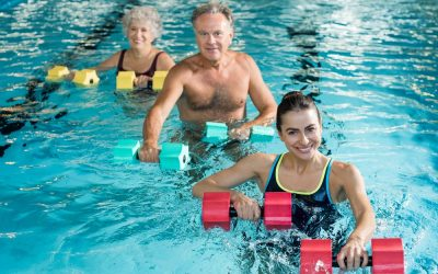 Get fit in your swimming pool