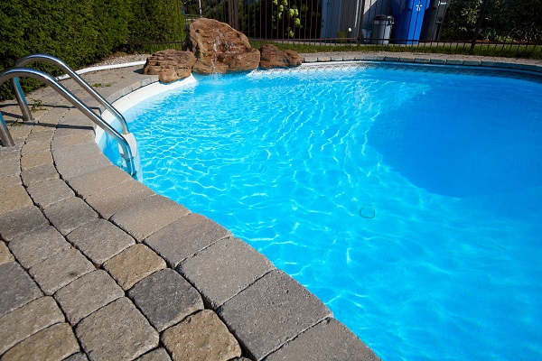 Caring for the pool in the winter