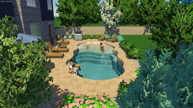 Off-season swimming pool prep