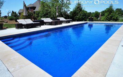 How big does a yard need to be for a pool?