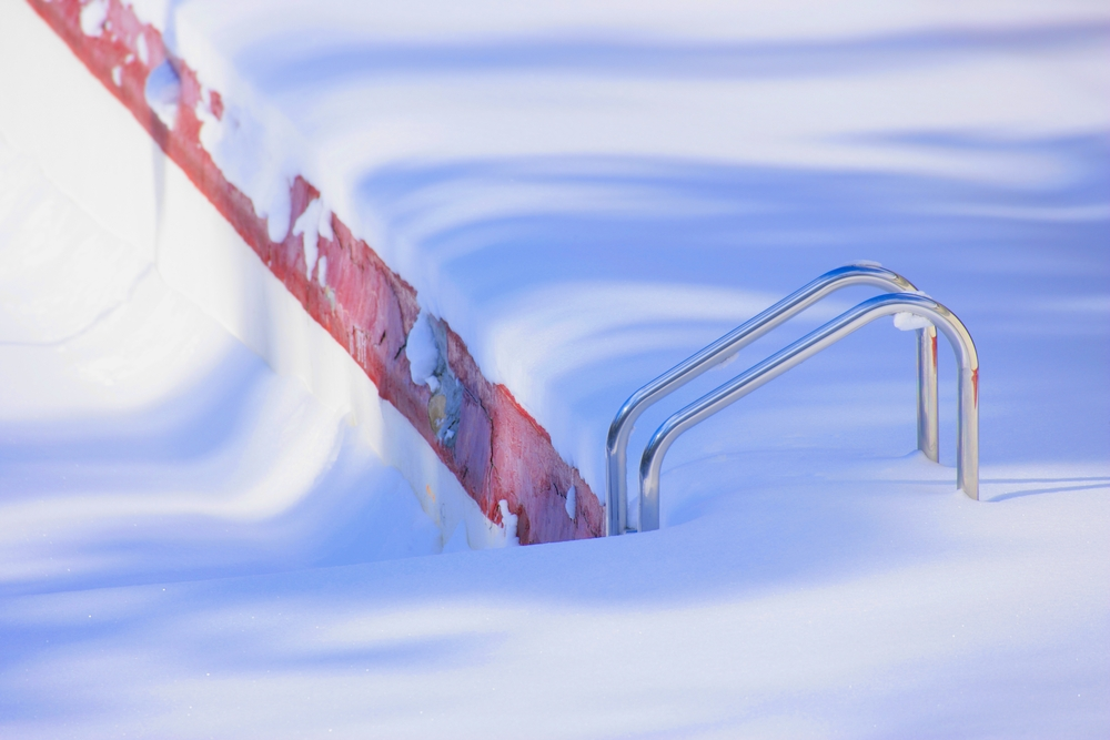How to care for the pool in winter