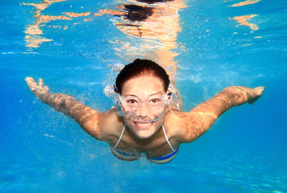How to get a good in-pool workout