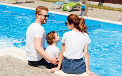 Use a solar cover to keep pool water warm