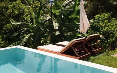 How to get creative with poolside landscaping